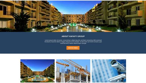 Meet our new website of Kafafy Group!